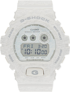 G-SHOCK Heathered three dial watch  3420