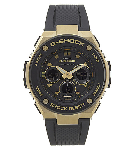 G-SHOCK GST-W300G-1A9ER watch (Gold