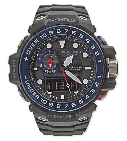 G-SHOCK GWN-1000B-1BER Gulfmaster watch (Black
