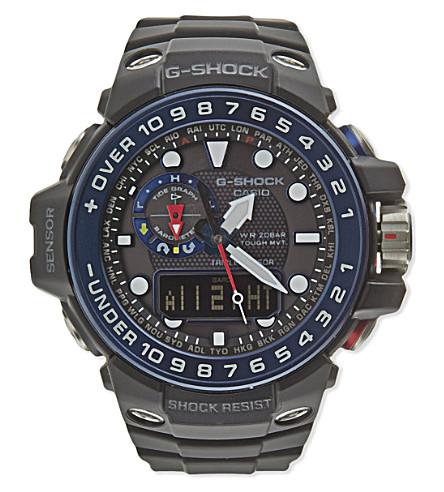 G-SHOCK GWN-1000B-1BER Gulfmaster watch (Black