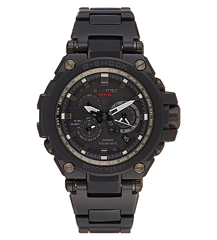 G-SHOCK MTG-S1000BD-1AER IP premium aviator watch (Black