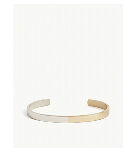 NUMBERS ARGENTO SILVER BANGLE