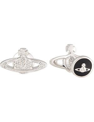 VIVIENNE WESTWOOD Mini crystal orb cufflinks
