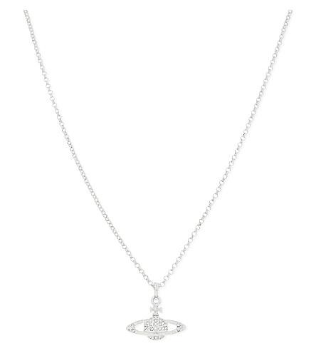 VIVIENNE WESTWOOD Mini Bas Relief pendant (Silver