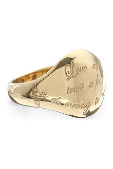 VIVIENNE WESTWOOD William ring