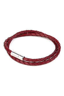 TATEOSSIAN Scoubido leather bracelet