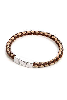 TATEOSSIAN Woven-leather bracelet