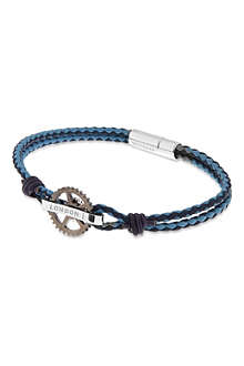 TATEOSSIAN Pop Gear leather bracelet