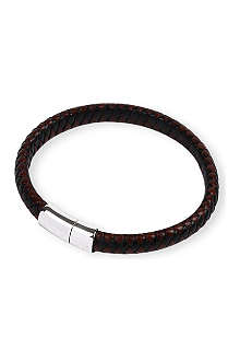 TATEOSSIAN Braided leather bracelet