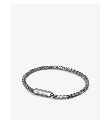 TATEOSSIAN Sterling silver chain bracelet (Silver