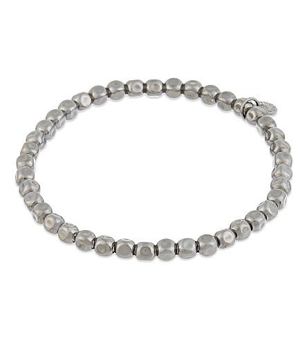 TATEOSSIAN Silver bead bracelet (Silver