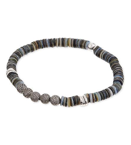 TATEOSSIAN Seychelles sterling silver bracelet (Silver+ruthenium