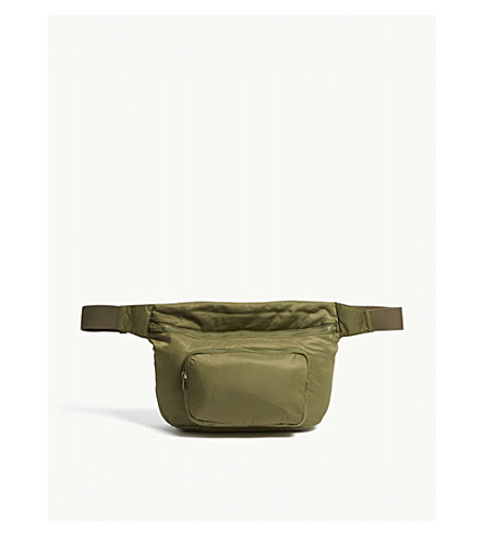 YEEZY Season 5 nylon fanny pack Truffle Extremely Cheap Online For Sale Footlocker Excellent For Sale 2018 New I12oQ