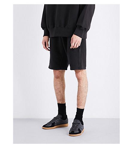 YEEZY Season 5 cotton-jersey shorts (Ink