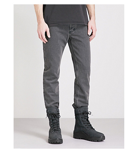 YEEZY Season 5 regular-fit tapered jeans (Faded+ink