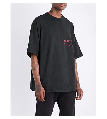 YEEZY Season 5 Cali Sport cotton-jersey T-shirt (Ash