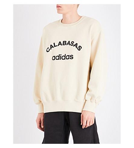 YEEZY Season 5 Calabasas adidas cotton-jersey sweatshirt (Jupiter
