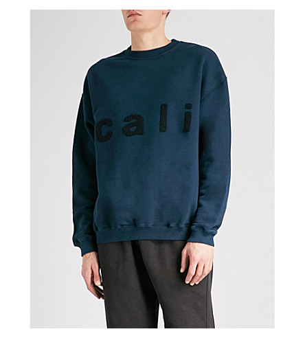 YEEZY Season 5 Cali cotton-jersey sweatshirt (Luna