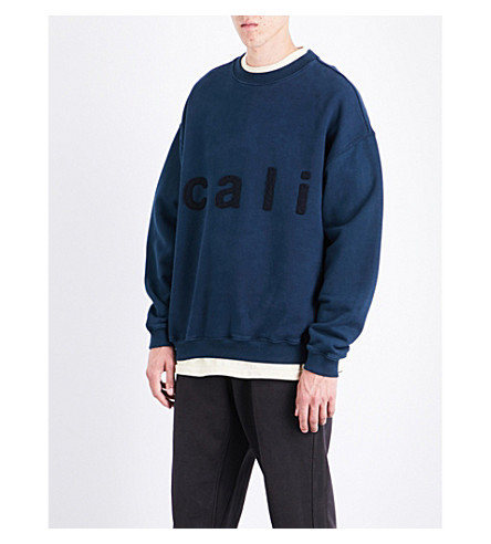 YEEZY Season 5 Calabasas cotton-jersey sweatshirt (Ink