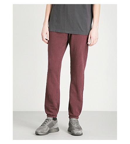 YEEZY 季 5 卡拉巴萨斯平纹针织棉慢跑裤 (Oxblood