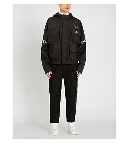 YEEZY Season 5 shell parka jacket (Ink