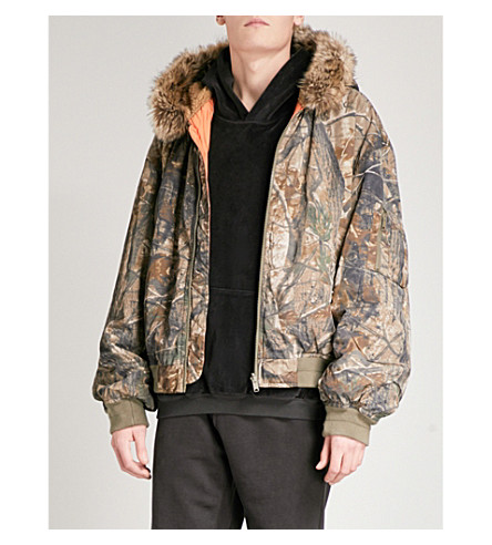 YEEZY Reversible bomber jacket (Khaki