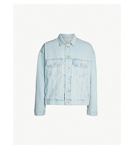 YEEZY Season 5 denim jacket (Faded indigo