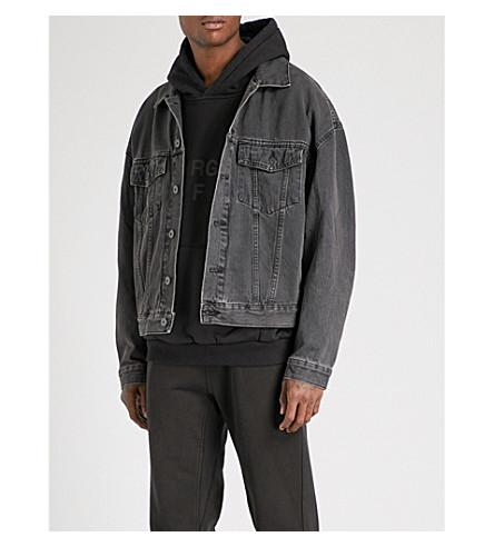 YEEZY Season 5 denim jacket (Faded+ink