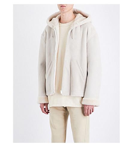 YEEZY Season 5 shearling coat (Birch