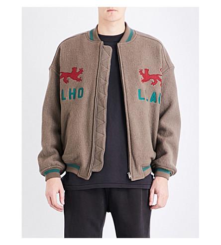 YEEZY Season 5 Mulholland wool bomber jacket (Viper