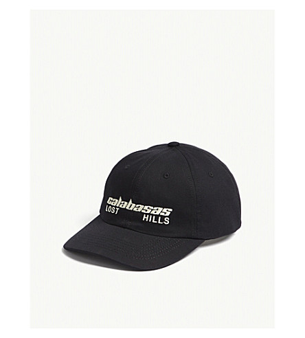 ... YEEZY Calabasas cotton strapback cap (Ink+arctic. PreviousNext