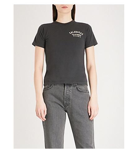 YEEZY Season 5 calabasas-print cotton-jersey T-shirt (Akon