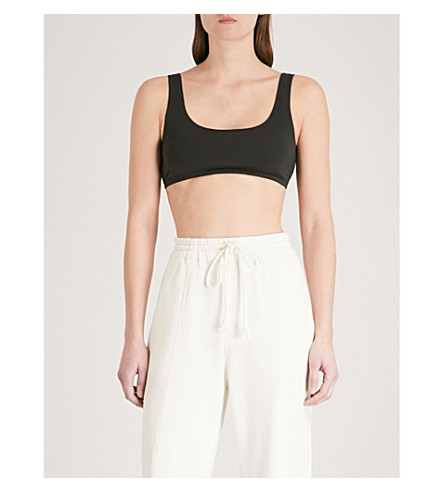 YEEZY Season 5 stretch-cotton cropped top (Grace
