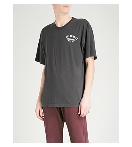 YEEZY 季 5 卡拉巴萨斯平纹针织棉 T 恤 (阿肯