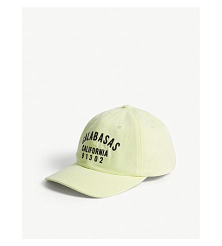 YEEZY 卡拉巴萨斯加利福尼亚棉 strapback 帽 (冷冻黄