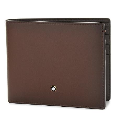 Sfumato leather wallet(113164)