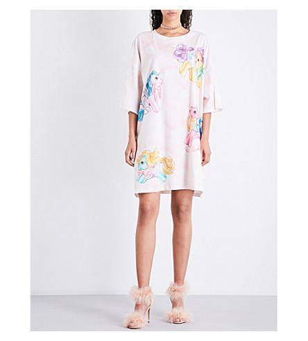 MOSCHINO My Little Pony-pattern cotton-jersey dress (Multicolour