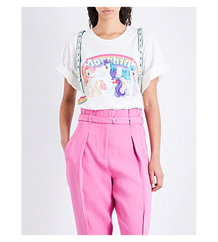 MOSCHINO My Little Pony cotton-jersey T-shirt (White