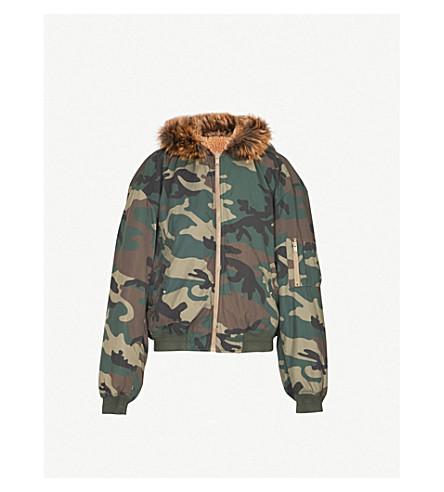 YEEZY Season 5 camo-print shell bomber jacket (Cpn38