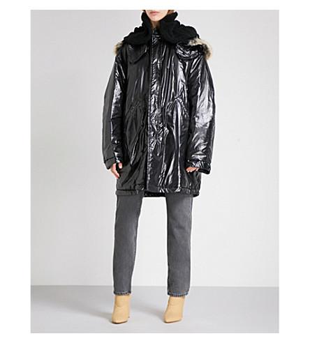 YEEZY Season 5 shell parka jacket (Ink