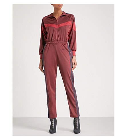 YEEZY Season 5 jersey jumpsuit (Ink+scorpio+ruby