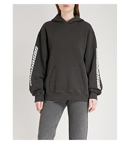 YEEZY Season 5 Calabasas cotton-jersey hoody (Black