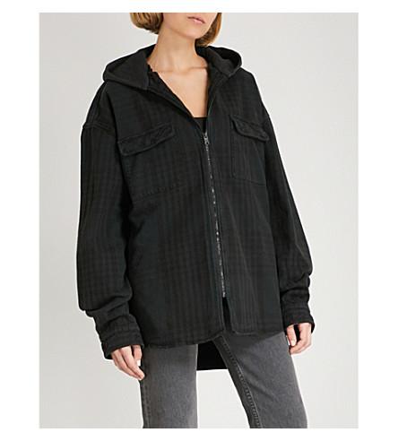 YEEZY Season 5 Calabasas cotton-flannel jacket (Black