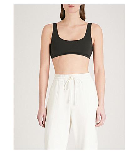 YEEZY Season 5 stretch-cotton cropped top (Black