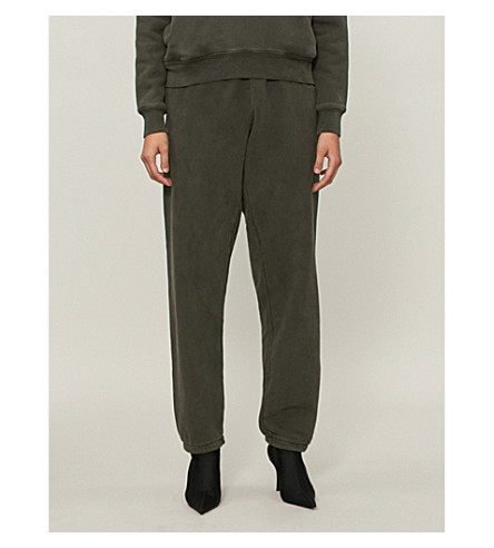 YEEZY Season 6 cotton-jersey jogging bottoms (Core