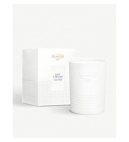 EX NIHILO Lait D'Éspices scented candle 300g