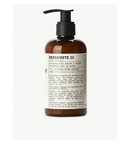 LE LABO Bergamote 22 Body Lotion 237ml
