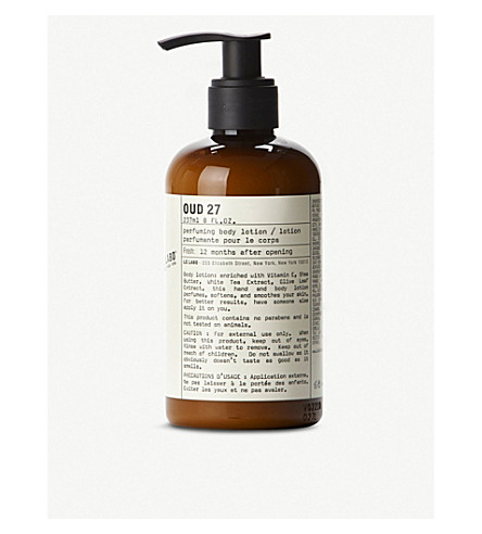 LE LABO Oud 27 Body Lotion 237ml