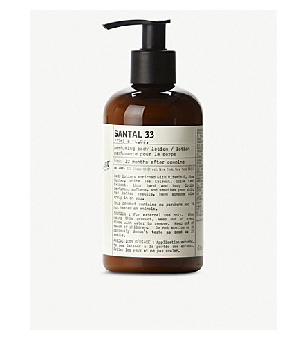 LE LABO Santal 33 body lotion 237ml