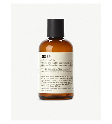LE LABO Iris 39 bath and body oil 120ml